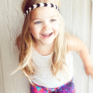 Elastic Print Headbands for Kids and Adults