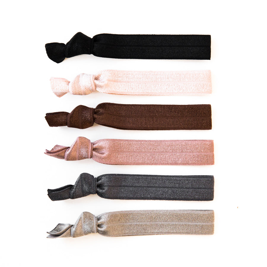 NEUTRAL OMBRE l Hair Tie Gift Set
