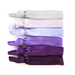 PURPLE OMBRE l Hair Tie Gift Set