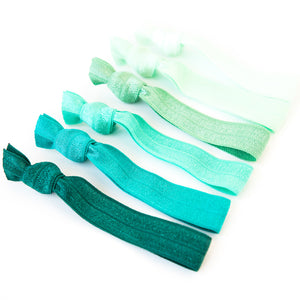 GREEN OMBRE l Hair Tie Gift Set