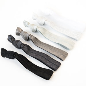 GRAY OMBRE l Hair Tie Gift Set
