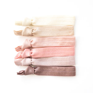 BLUSH OMBRE l Hair Tie Gift Set