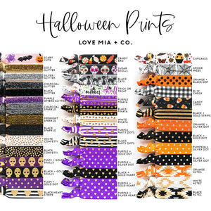 Ghouls Night | Halloween Party Hair Tie Favors