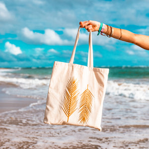 Canvas Tote Bag | Honeymoon Beach Vibes