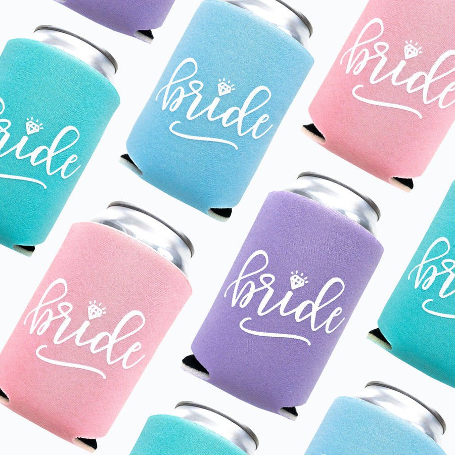 Pastel Bride Drink Coolers