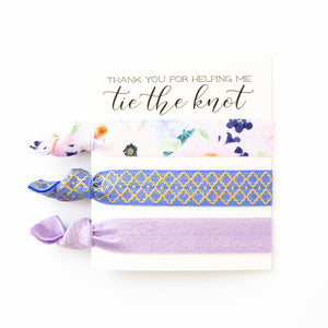 BRIDAL PARTY PROPOSAL | Hair Tie Gift Favors