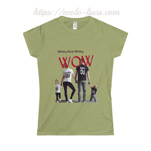 WOW Family Softstyle T-Shirt - Ecolo.luca