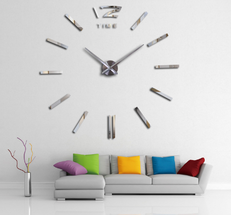 Big DIY 3D Clock - Ecolo.luca