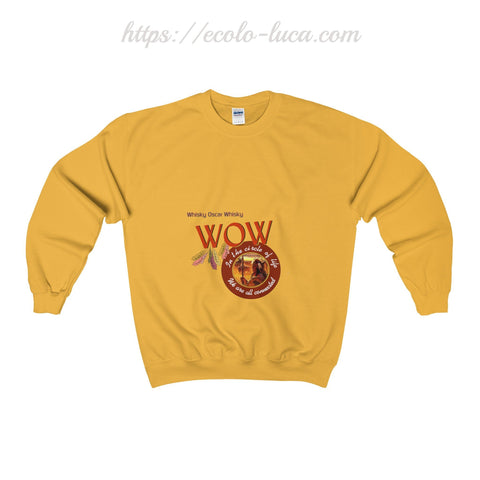 WOW Native Unisex Heavy Blend™ Sweatshirt - Ecolo.luca