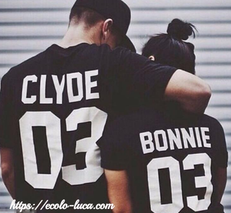 Bonnie for Women Clyde for Men T-shirt