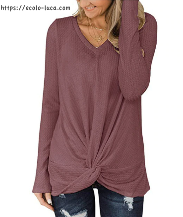 Tangle Up Long Ribbed Sweater - Ecolo.luca