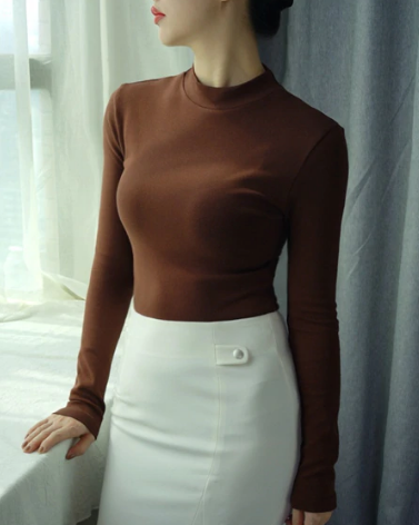 Soft Slim Cotton Sweater - Ecolo.luca