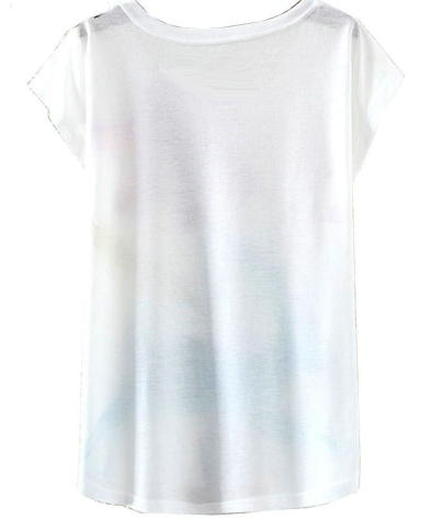 New Fashion Print Design T-shirt - Ecolo.luca