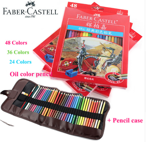 Faber-Castell Artist-quality Oily Color Pencils - Ecolo.luca