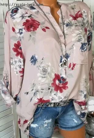 Flowers Printed Shirts - Ecolo.luca