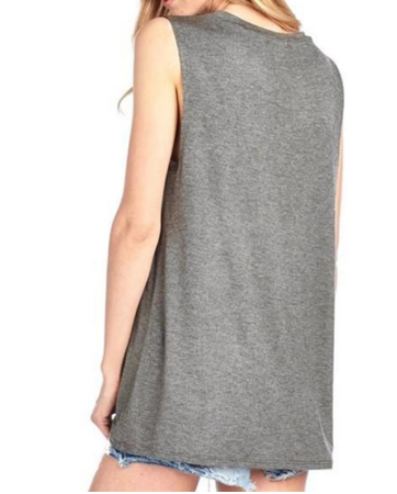 Sleeveless Tank Top - Ecolo.luca