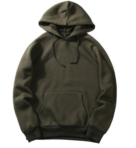 Men's Beautiful Hoodie Plain or Camouflage - Ecolo.luca