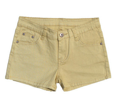 Hot Pants Colored Denim Sexy Shorts - Ecolo.luca