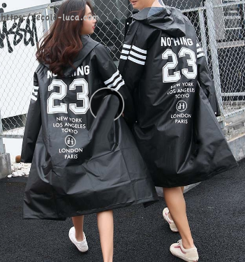 Fashion Couple Raincoat - Ecolo.luca