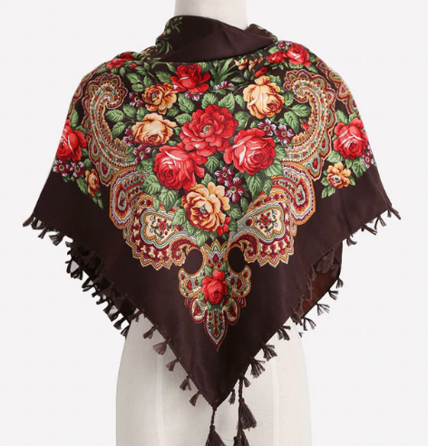Russian Colors Scarf - Ecolo.luca
