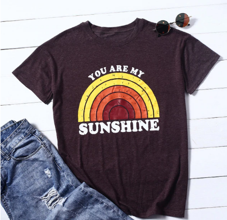 Sunshine and Wander Tee
