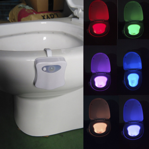 Toilet Motion Activated Nightlight