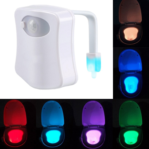 Toilet Motion Activated Nightlight Ecolo Luca