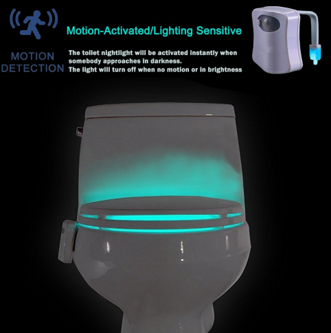Toilet Motion Activated Nightlight - Ecolo.luca