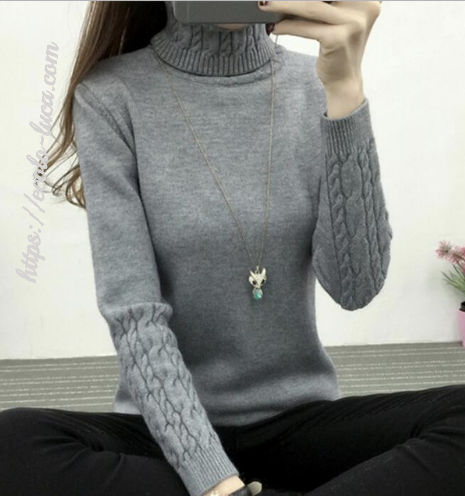 Beautiful Heavy Turtleneck - Ecolo.luca