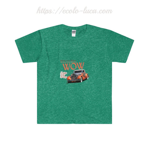WOW Old Car Softstyle® T-Shirt - Ecolo.luca