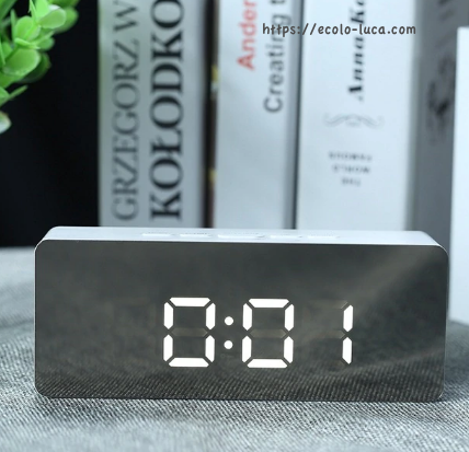 Alarm Clock Digital LED - Ecolo.luca