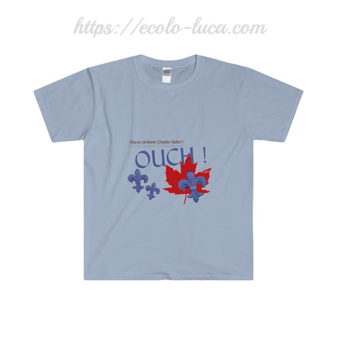 OUCH! Canada-Quebec Softstyle® T-Shirt - Ecolo.luca