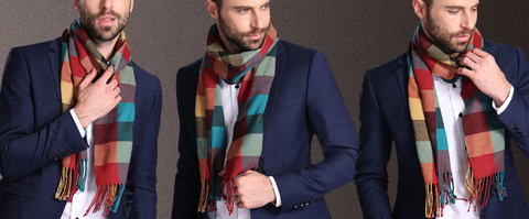 Cotton Men's Scarf