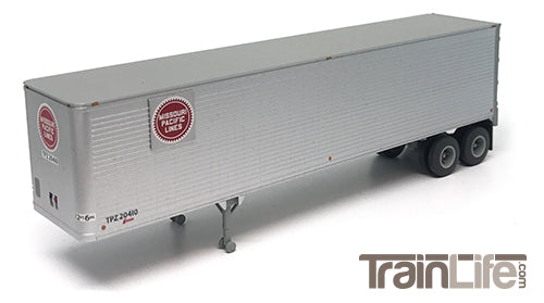 Just Added from TrainWorx! HO Scale 40' Corrugated Trailers!