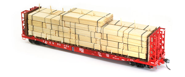New from TrainLife! Full Carload Lumber Loads and how to build them!