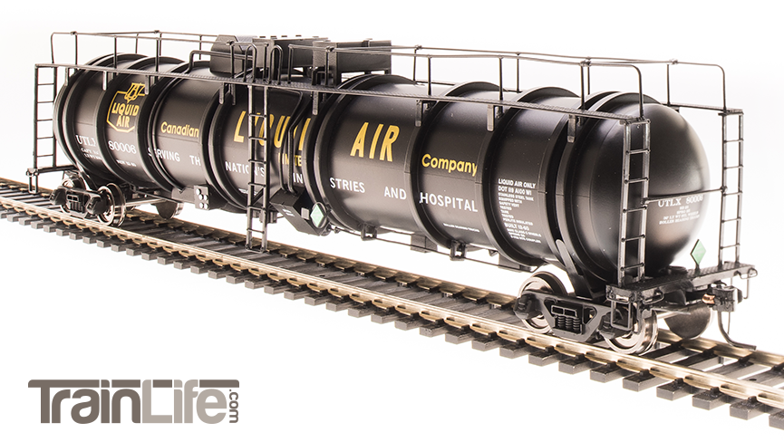 HO Scale Cryogenic Tank Cars from Broadway Limited Imports - Now Available!