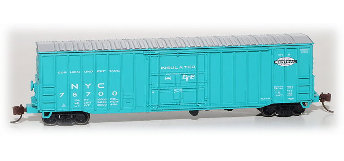 All New from ESM - N Scale: Despatch Shops 50' Boxcar, Class X65