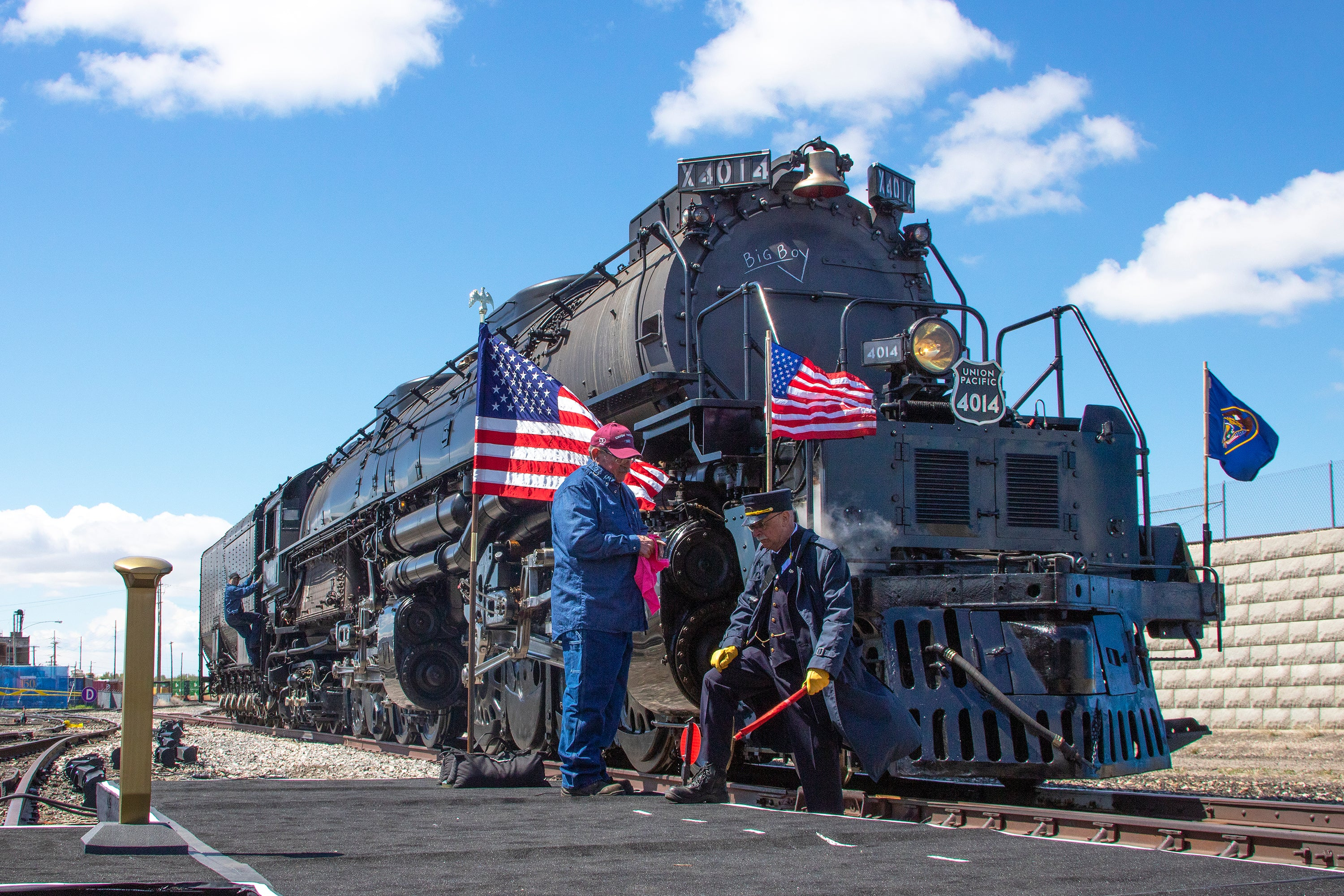 Union Pacific's Big Boy 4014 to visit Provo!
