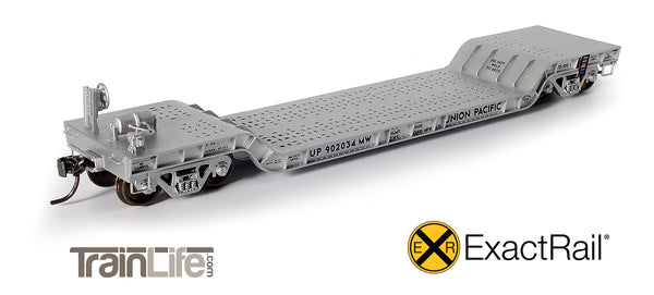 TrainLife Exclusive ExactRail Depressed Center Flat Cars are on their way!