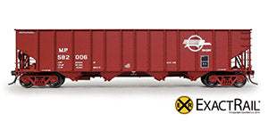 New from ExactRail! New Road Numbers of the As Delivered Missouri Pacific Bethlehem 3737 Hoppers!