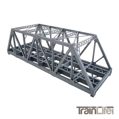 HO SCALE: MODERNIZED DOUBLE-TRACK RAILROAD TRUSS BRIDGE