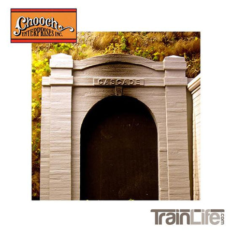 Ho Scale: Cascade Tunnel Single-Track Portal