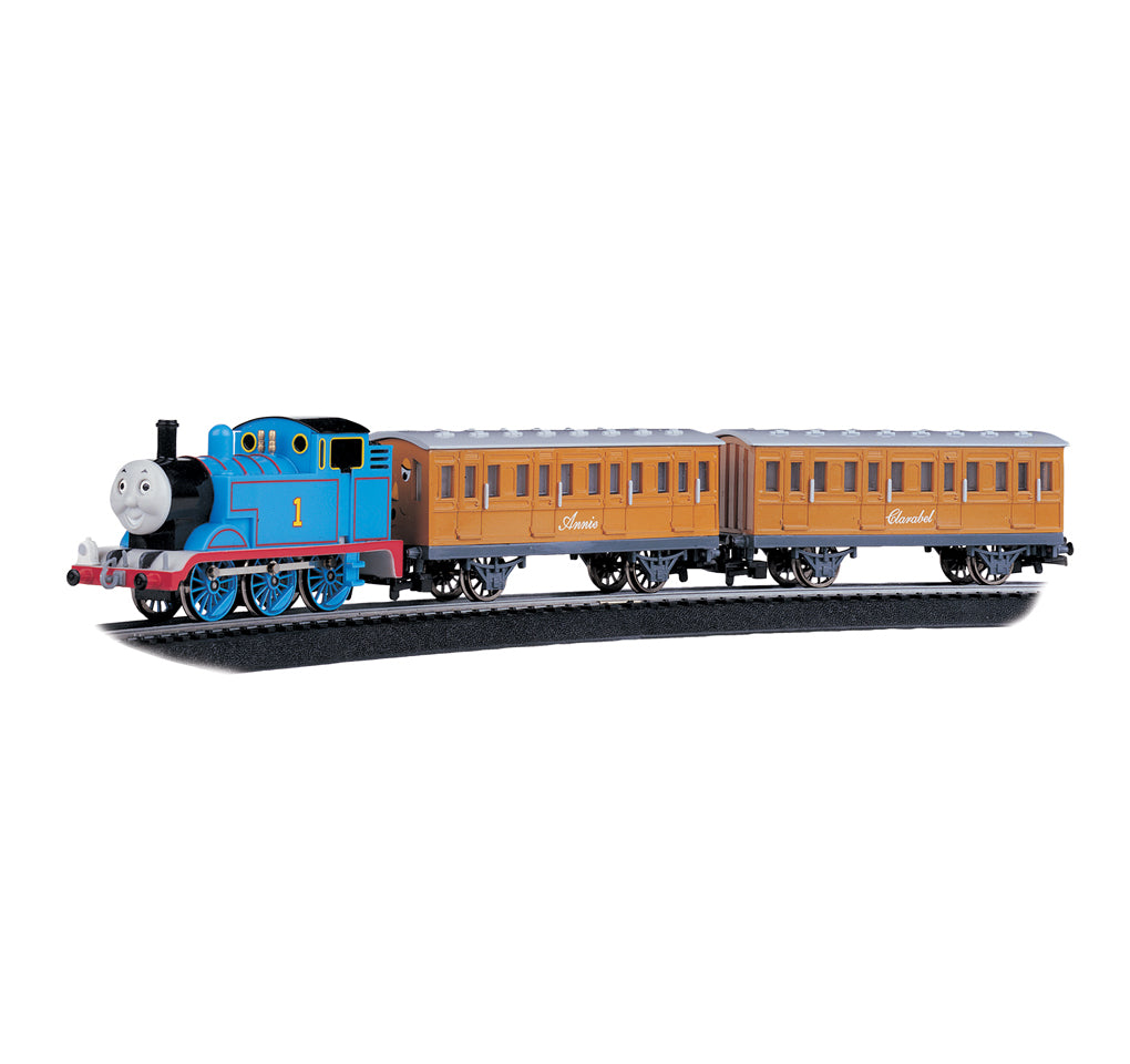 HO Scale: Thomas & Friends™ - Thomas the Tank Engine with Annie & Clarabel Train Set