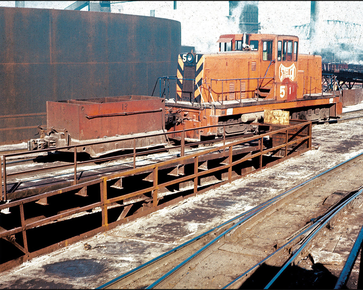 Books: Steel Mill Railroad Facilities and Equipment