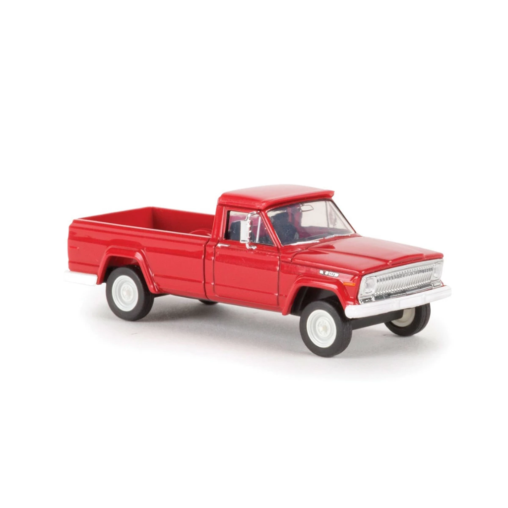 HO Scale: 1967 Jeep Gladiator Pickup Truck - Red