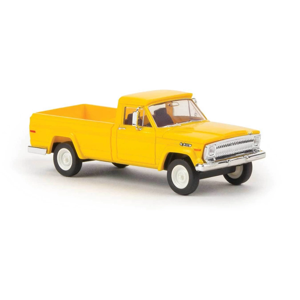 HO Scale: 1967 Jeep Gladiator Pickup Truck - Yellow