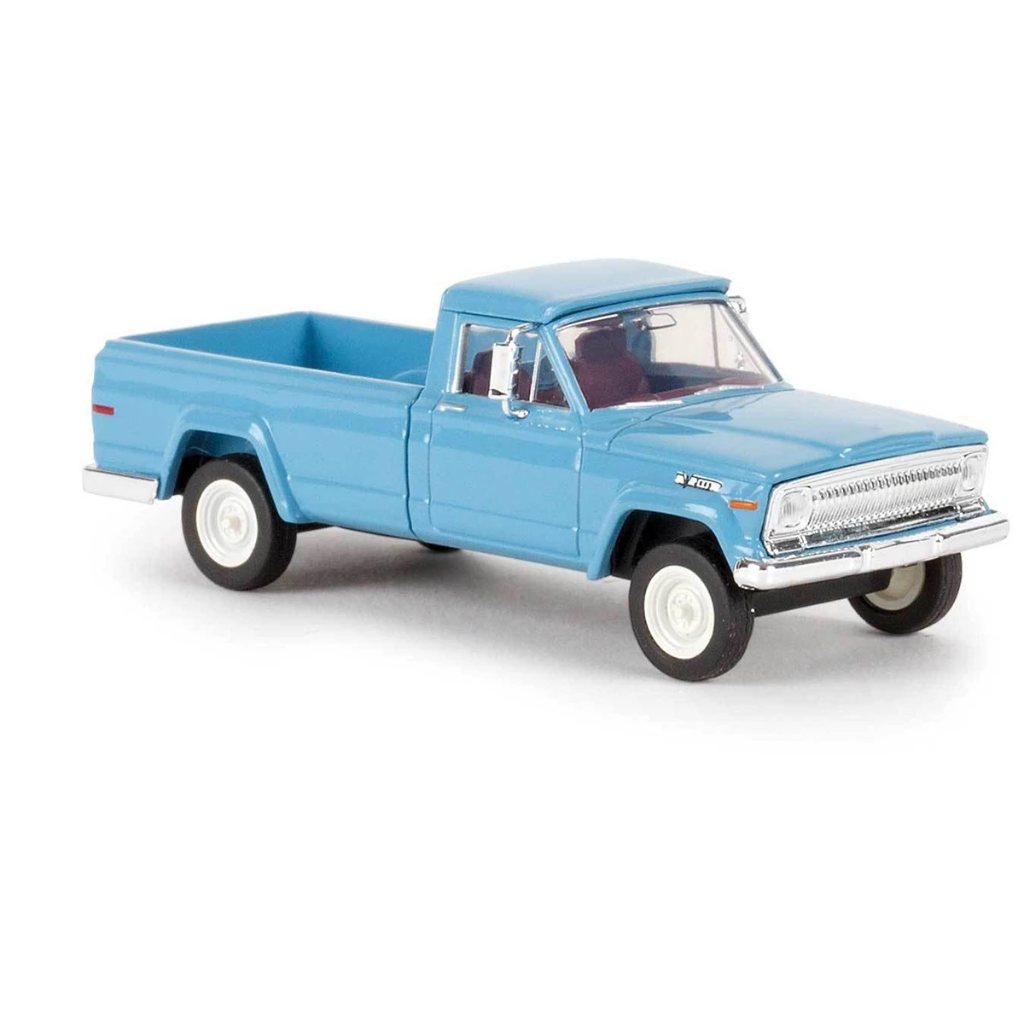 HO Scale: 1967 Jeep Gladiator Pickup Truck - Pastel Blue