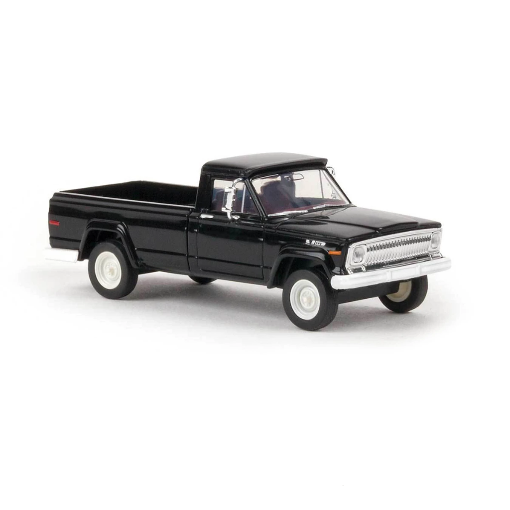 HO Scale: 1967 Jeep Gladiator Pickup Truck - Black