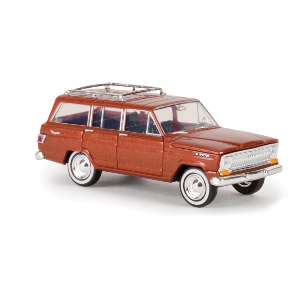 HO Scale: 1967 Jeep Wagoneer - Metallic Copper