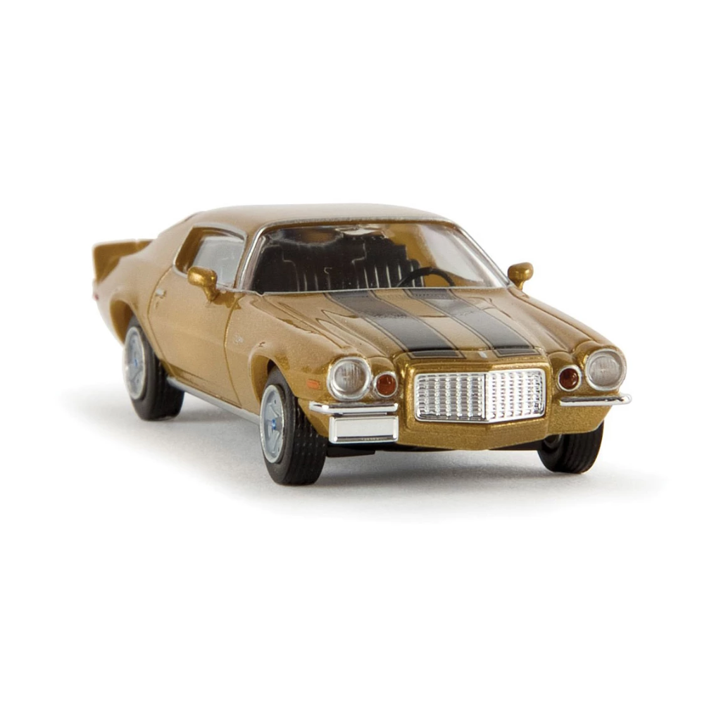 HO Scale: 1972 Chevrolet Camaro Z28 - Gold